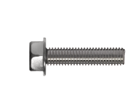 Hexagonal washer head thread-forming bolt