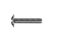 Button head self-tapping metal screw