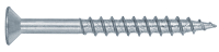 INOX Flat head chipboard screw partially threaded