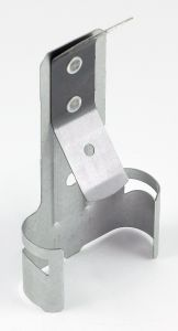 Rotating hanger with spring